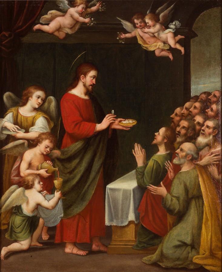 La communion des apôtres, 16e siècle