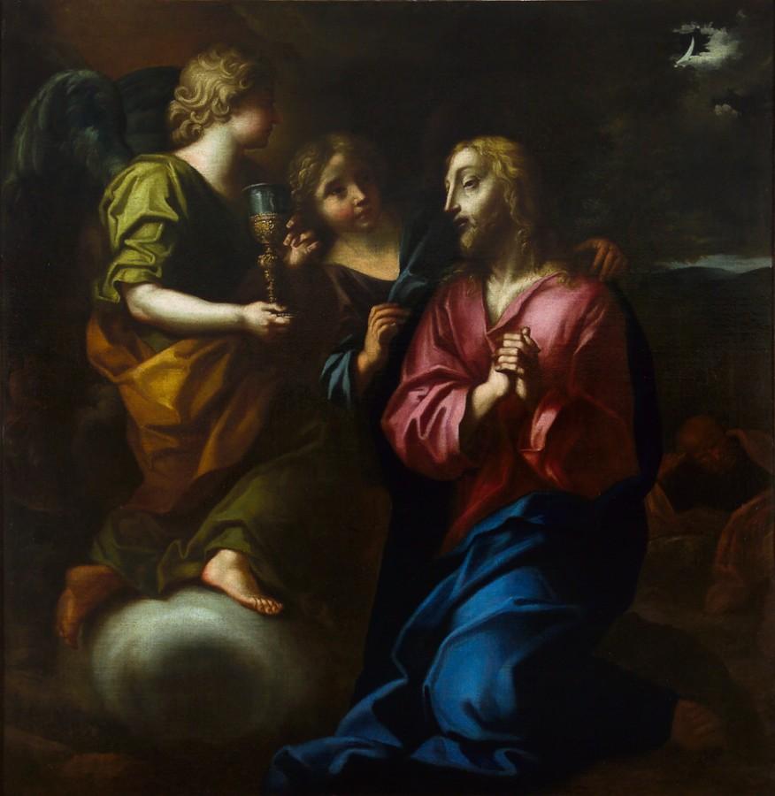 Le Christ au jardin des oliviers, 18e siècle