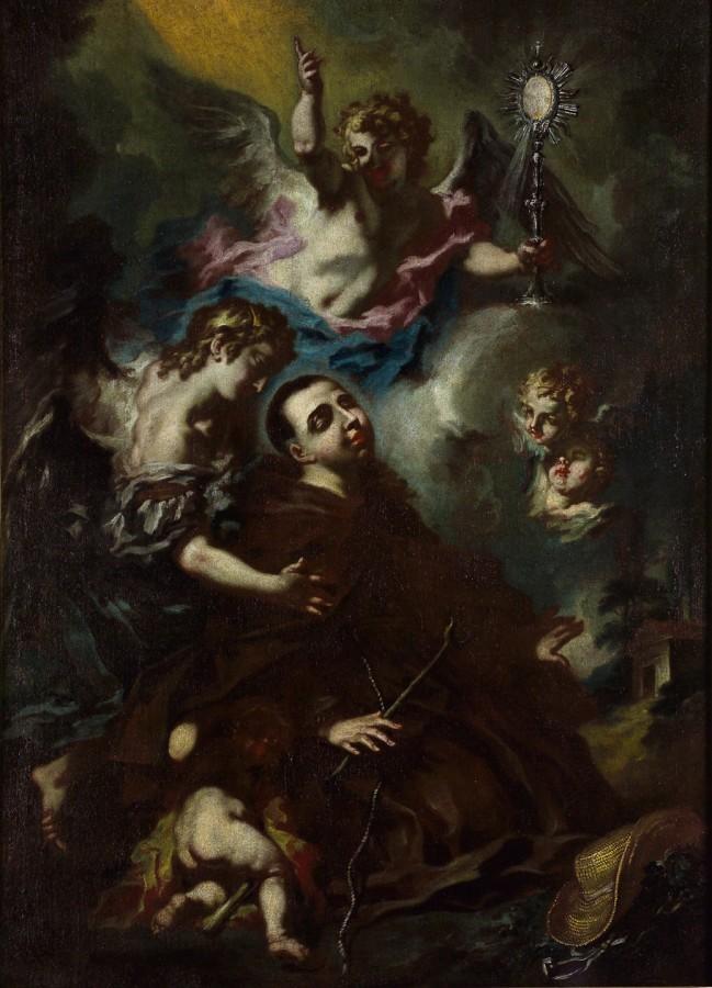 L'extase de saint Pascal Baylon, 18e siècle