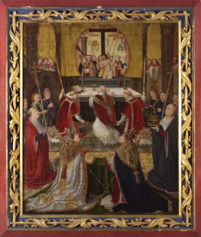 La messe de saint Grégoire, fin du 15e siècle