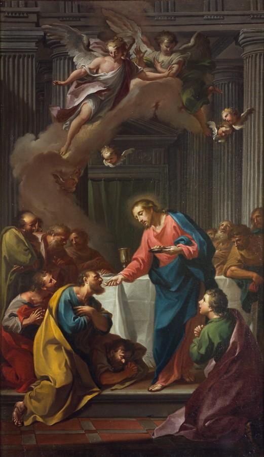 La communion des apôtres, 18e siècle