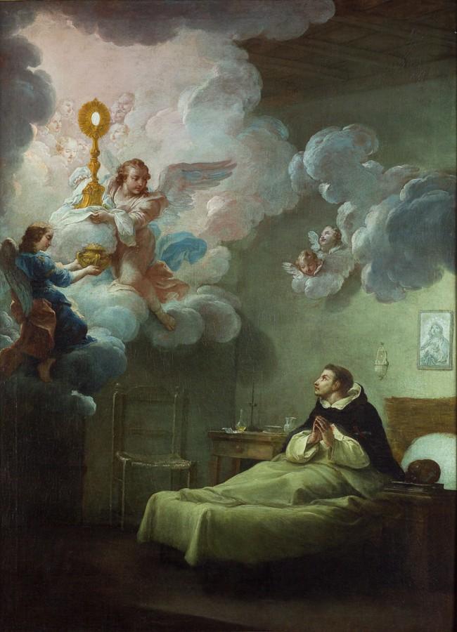 La vision d'un saint de l'ordre de la Trinité, 18e siècle