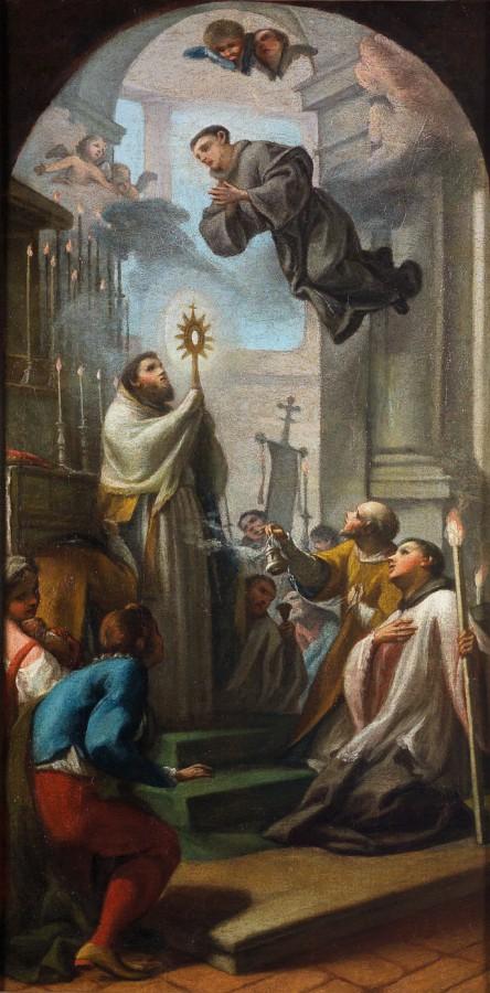 La lévitation du bienheureux Thomas de Cori, 18e siècle