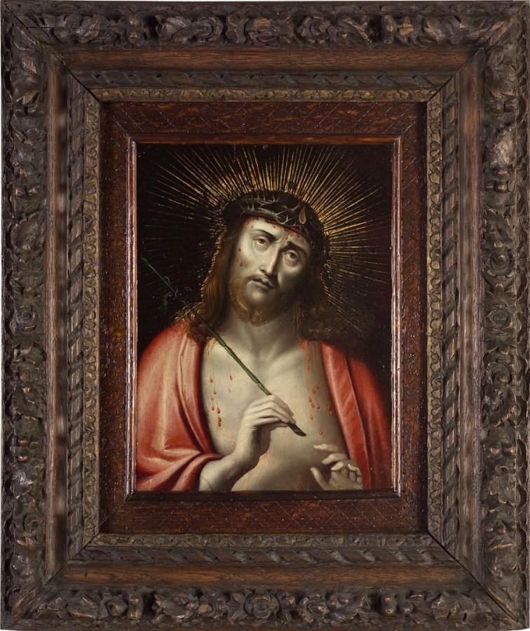 Christ de pitié, 17e siècle