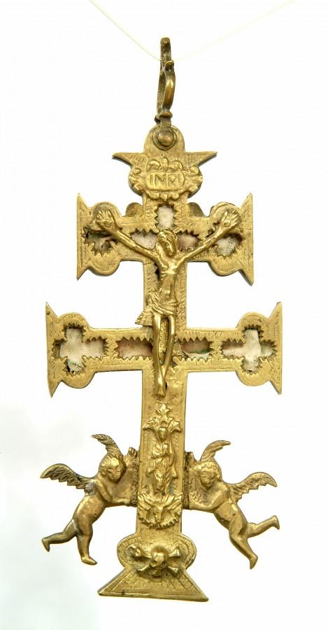 Croix reliquaire de Caravaca, 18 siècle