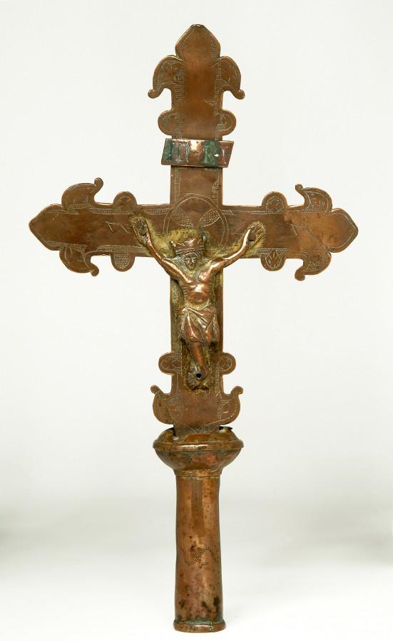 Croix de procession, 14e siècle
