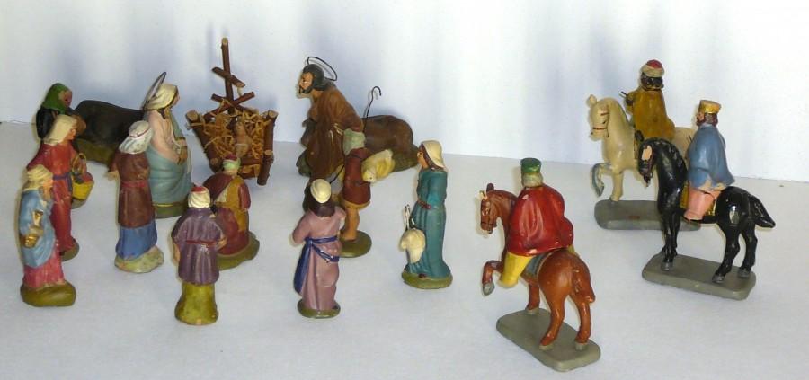 Crèche santons