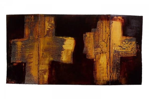 Peinture polyface, Cécile Marie, 2004
