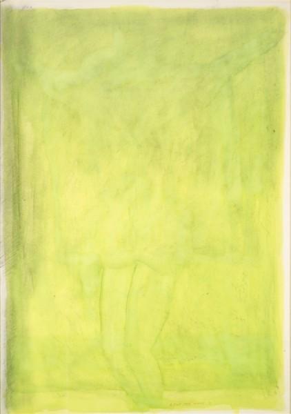 Le Christ vert, Jean-Michel Alberola, 1989