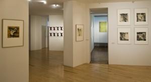 Exposition Dournon, étage intérieur