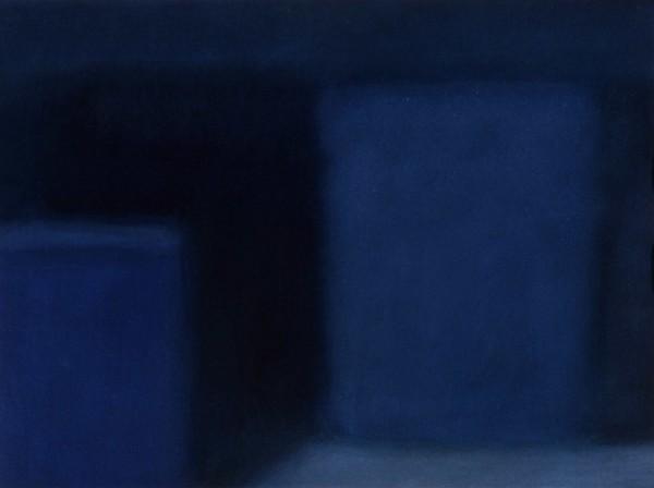 Vie silencieuse bleue profonde, Alexandre Hollan, 2002