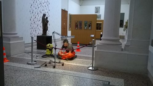 Restaurations au musée