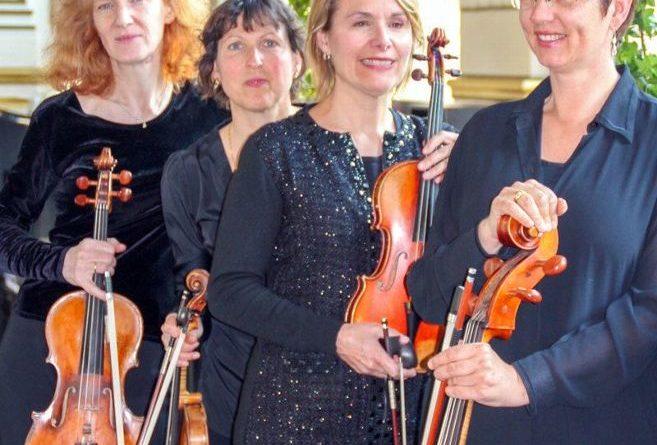 Enregistrement disque du Quatuor Puccini au musée