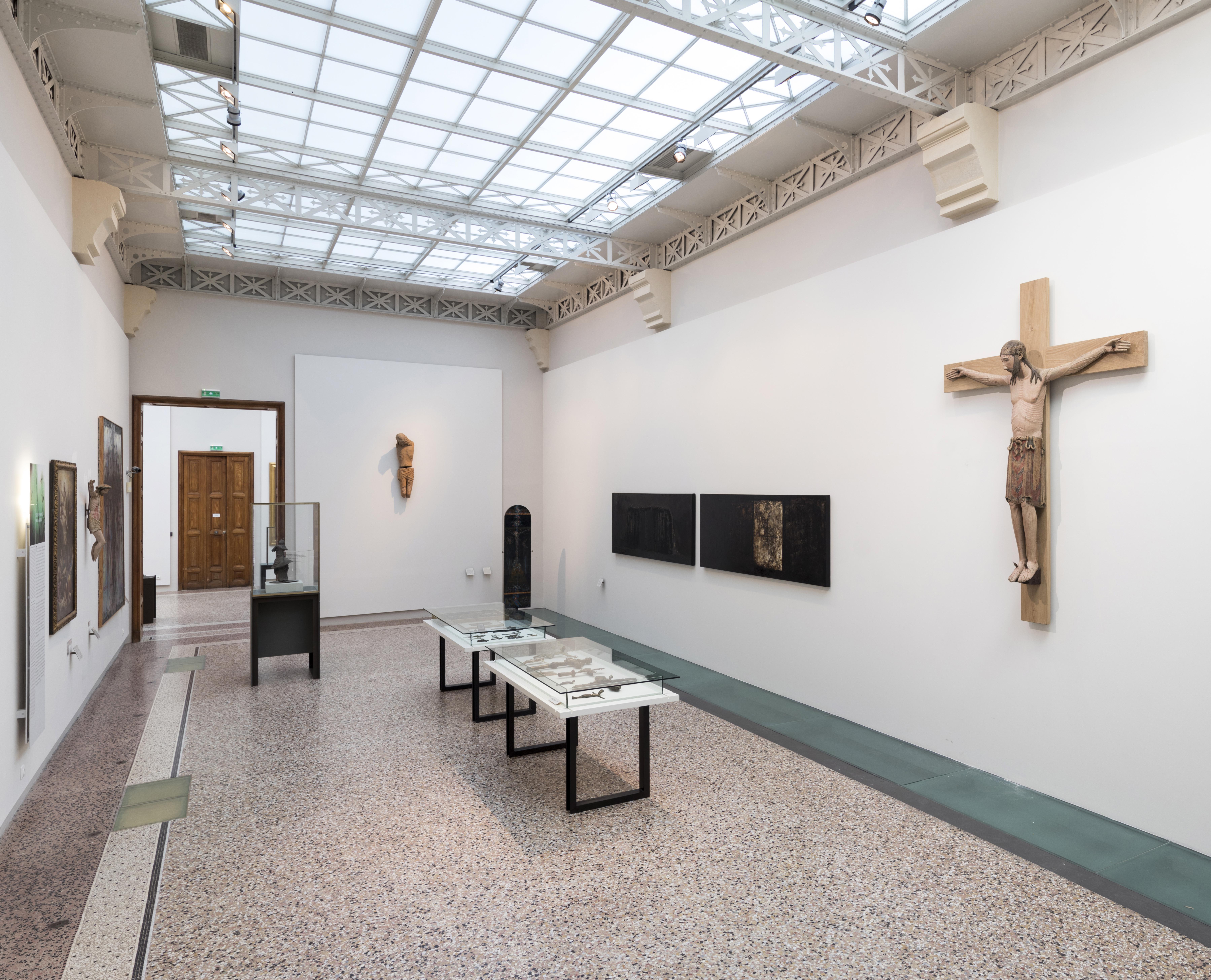 Galerie du musée et sa lumière zénithale