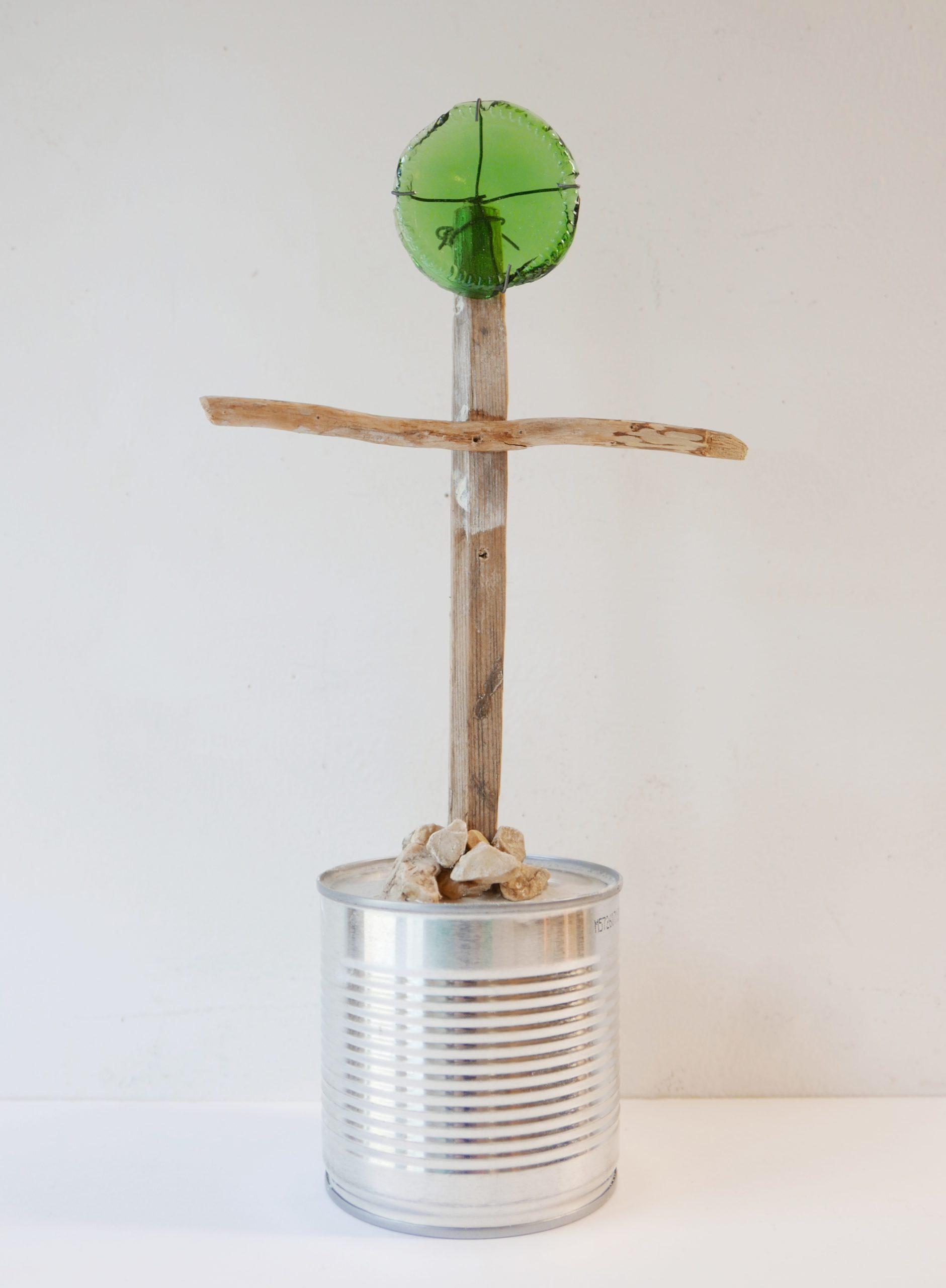 Croix de Peu, technique mixte, ©Didier Hays