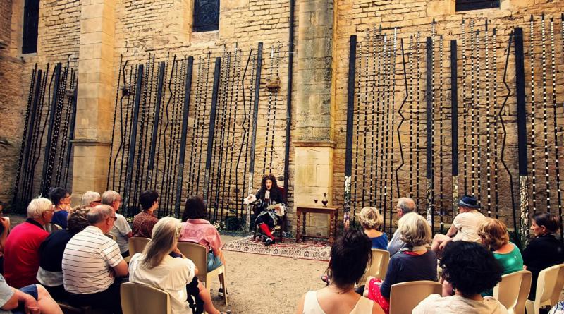 18 août : spectacle au Cloître de la Basilique