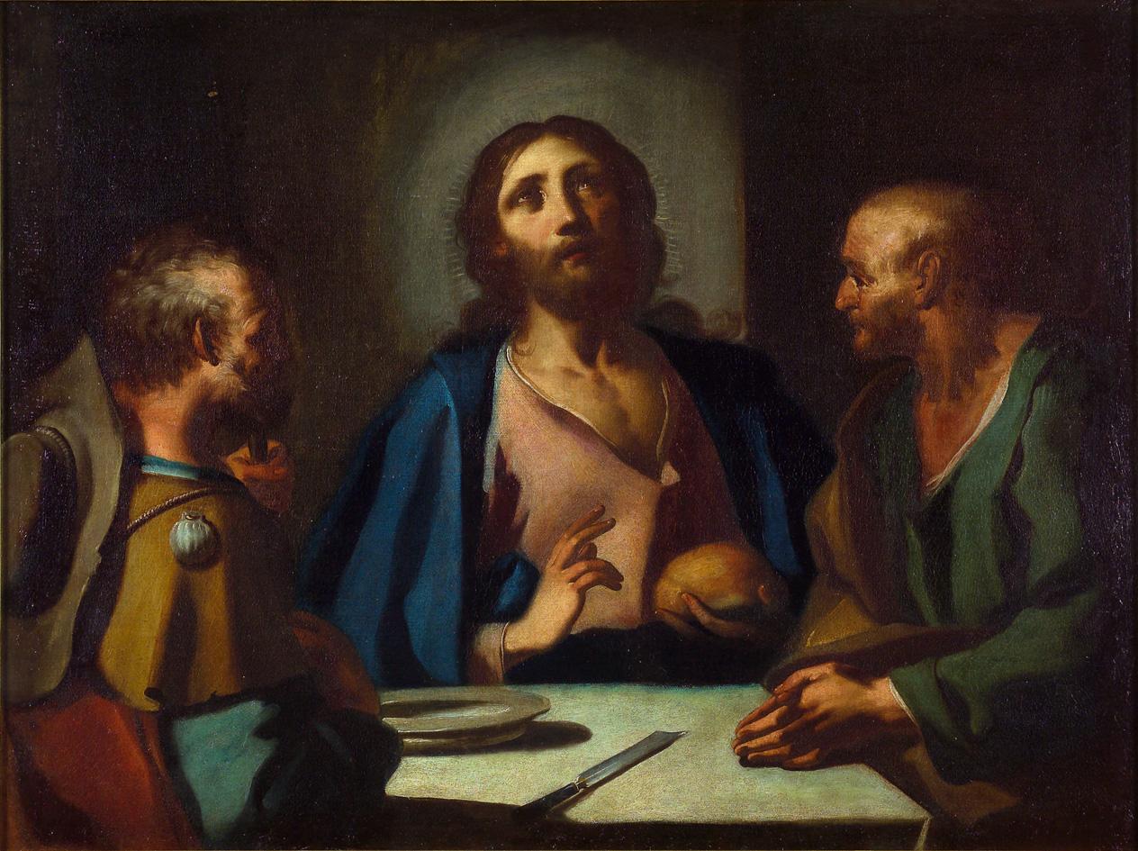 Le repas à Emmaüs, 17e siècle