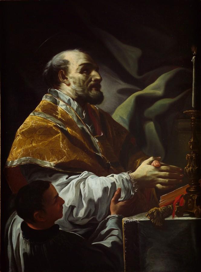 Saint Philippe Néri en extase, Corrado Giacquinto, 18e siècle