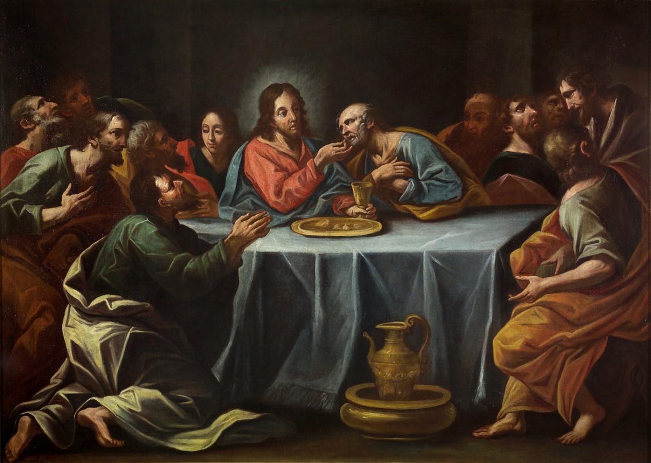 La communion des apôtres, début du 18e siècle