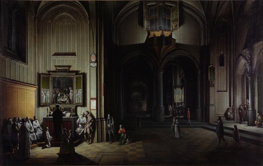 Intérieur d'église, Henri van Steinwick le Jeune, 1623