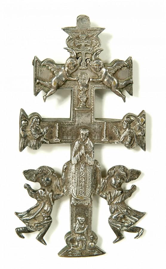 Croix reliquaire de Caravaca, 18e siècle