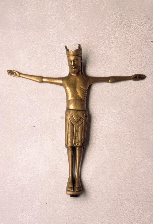 Christ en croix couronné, fin du 12e siècle