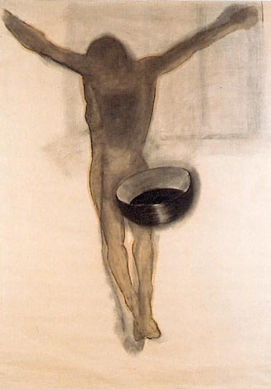 Christ noir à la coupe, Alberola, 1989