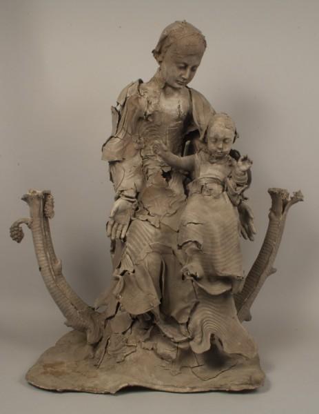Vierge à l'Enfant, Georges Jeanclos, 1996