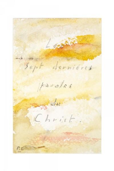 Les sept dernières paroles du Christ, Lafoucriere