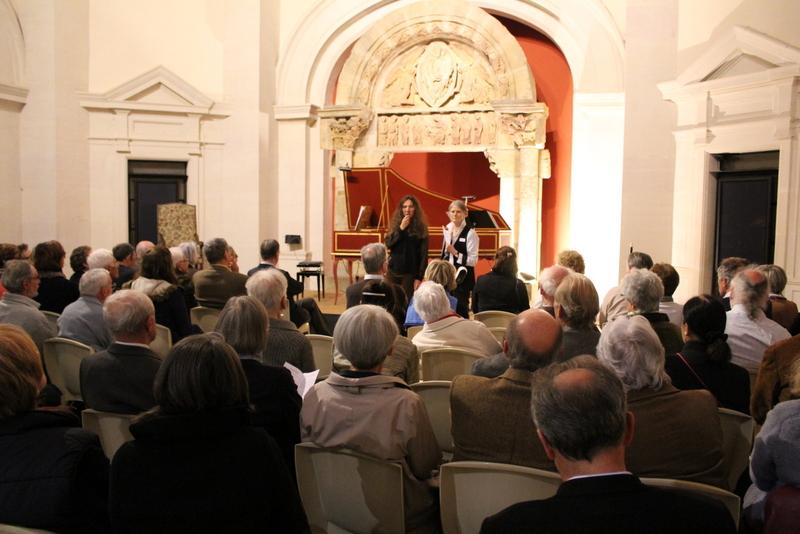 Mot d'accueil de la présidente des Amis de l'Orgue de Charolles et de la conservatrice du musée © R. Plaa