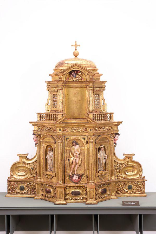 Tabernacle d'exposition, 17e siècle