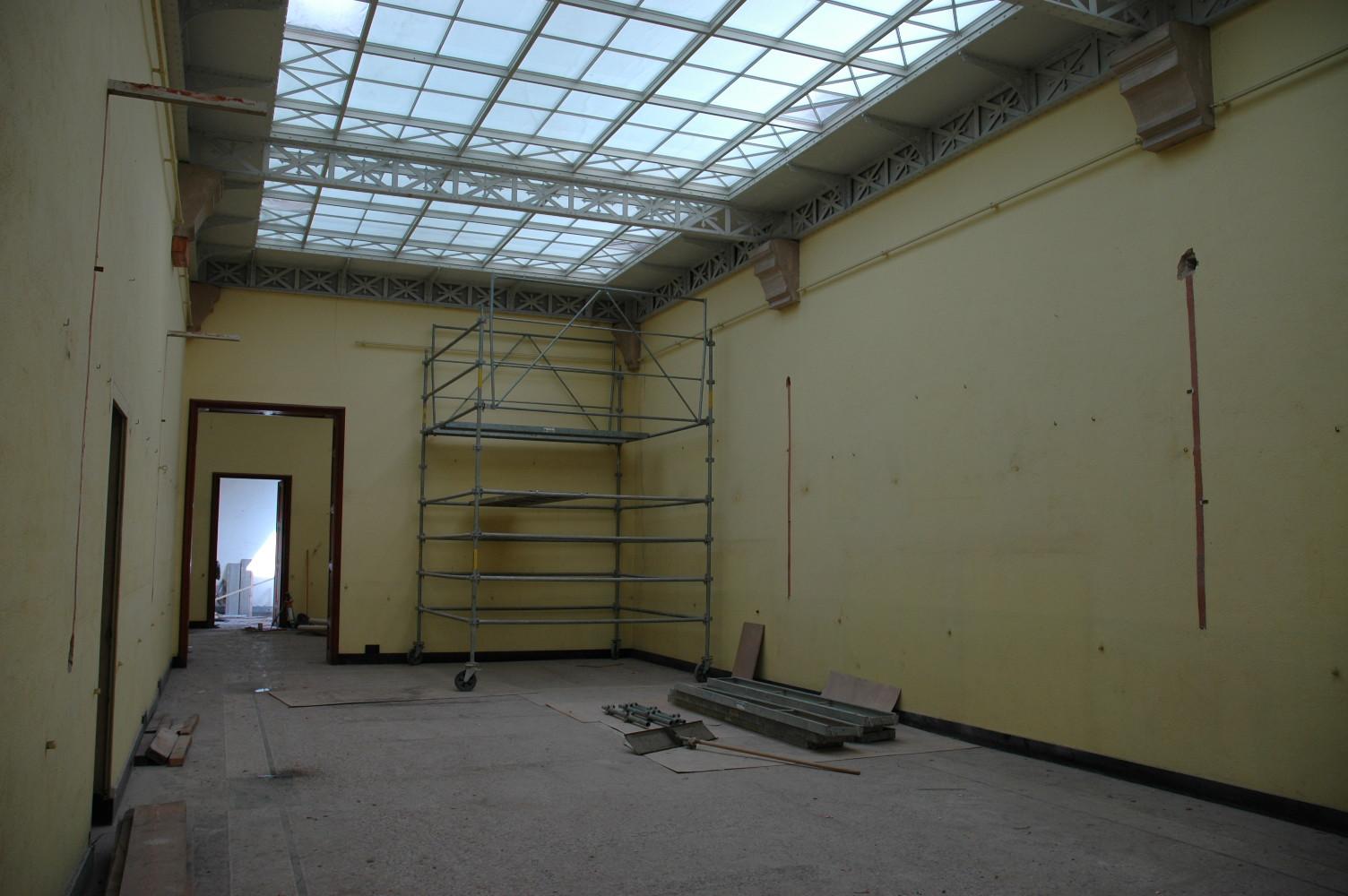 Réhabilitation du bâtiment dans les années 2000