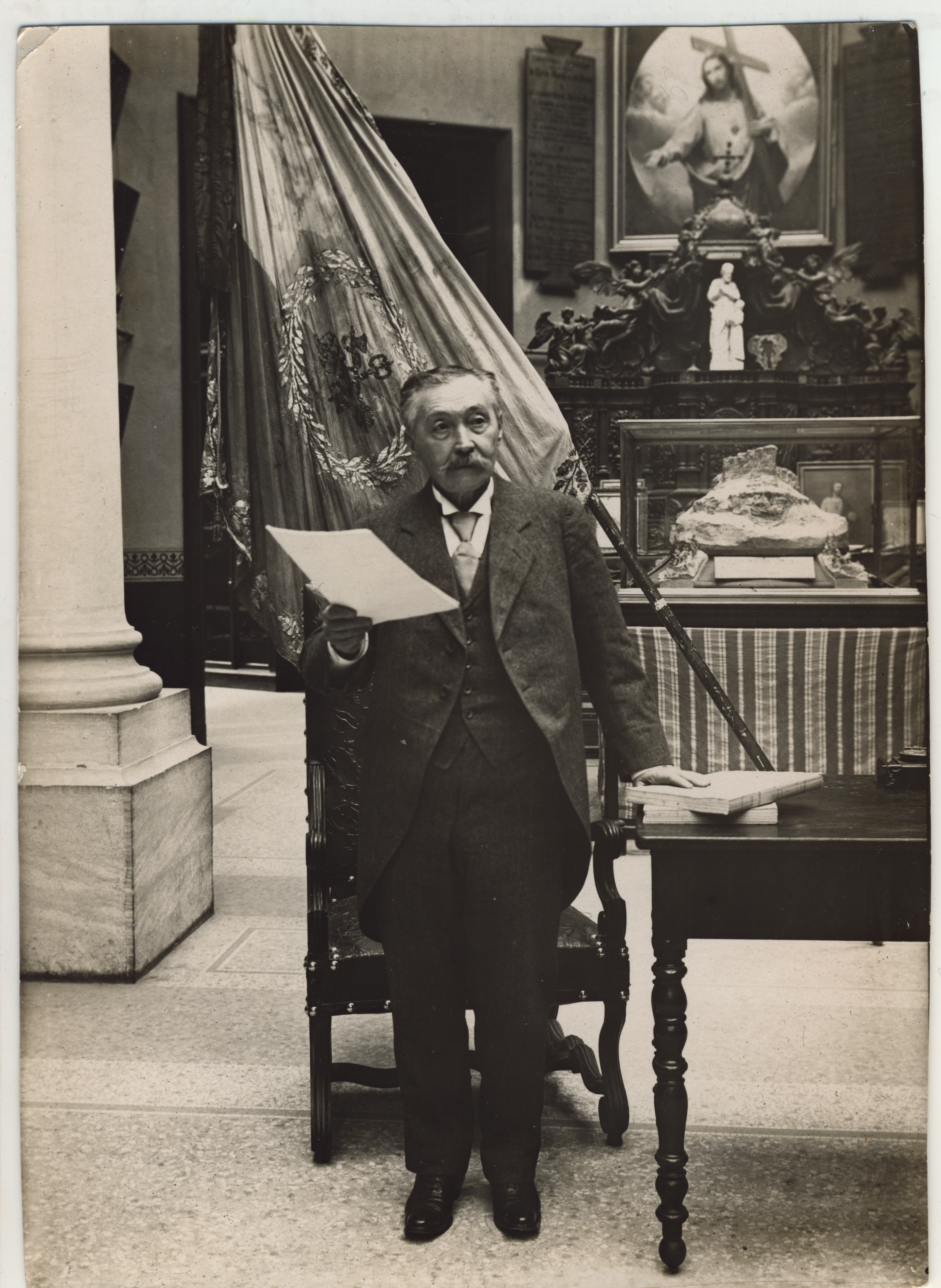 La Baron Alexis de Sarachaga, fondateur du Hiéron (1840-1918)