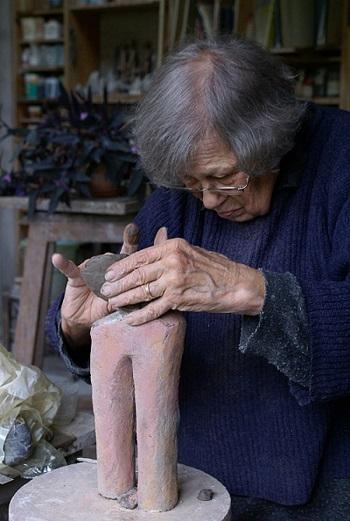 Jacqueline Lerat photographiée par Bernard Guillot, 2006