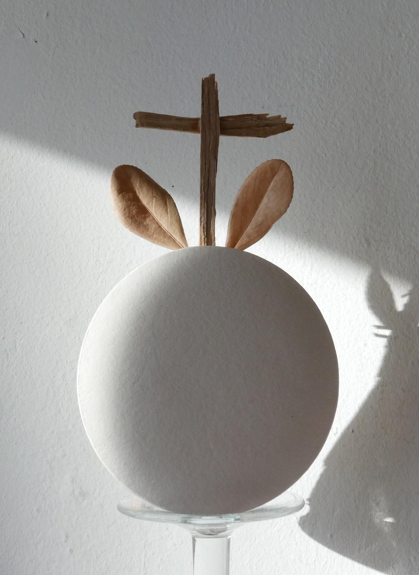 Croix de Peu, (détail) technique mixte, ©Didier Hays