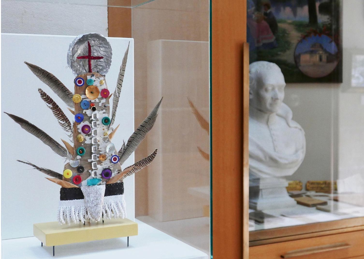 Vue des Croix dans Peu dans les galeries du musée
